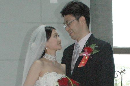 教堂婚禮/日系.復古.中分