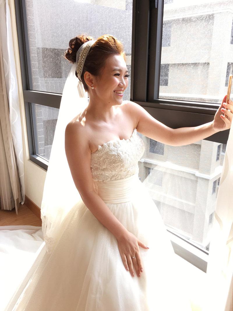 新娘整體造型作品