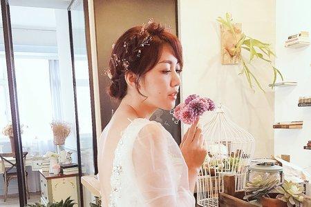 [my bride] 必點氣質盤髮、包頭系列