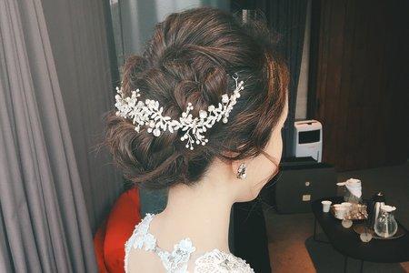 [my bride]必點盤髮、包頭系列