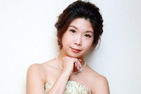 韓系盤髮造型