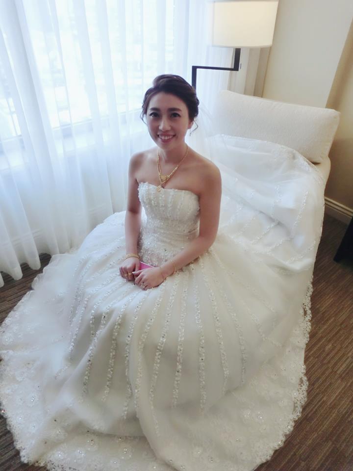 新娘~ 黔霏訂結婚之喜(編號:433364) - Beautiful makeup新秘培培 - 結婚吧
