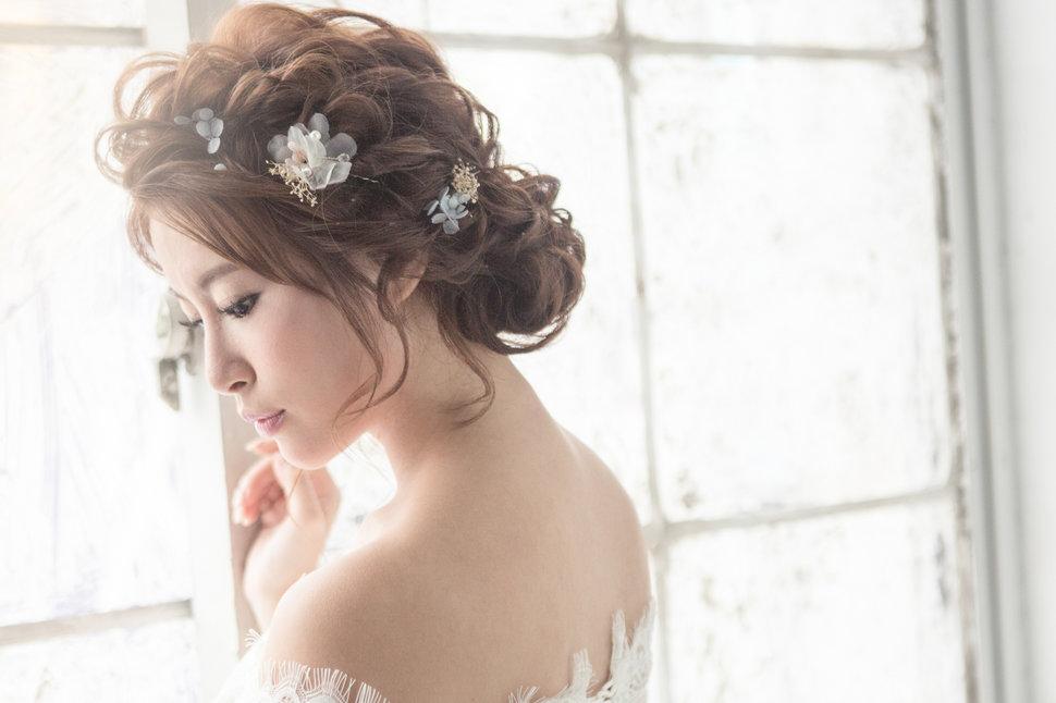 【純真精靈】低髻造型/純淨妝感-7 - iling彩妝造型 - 結婚吧