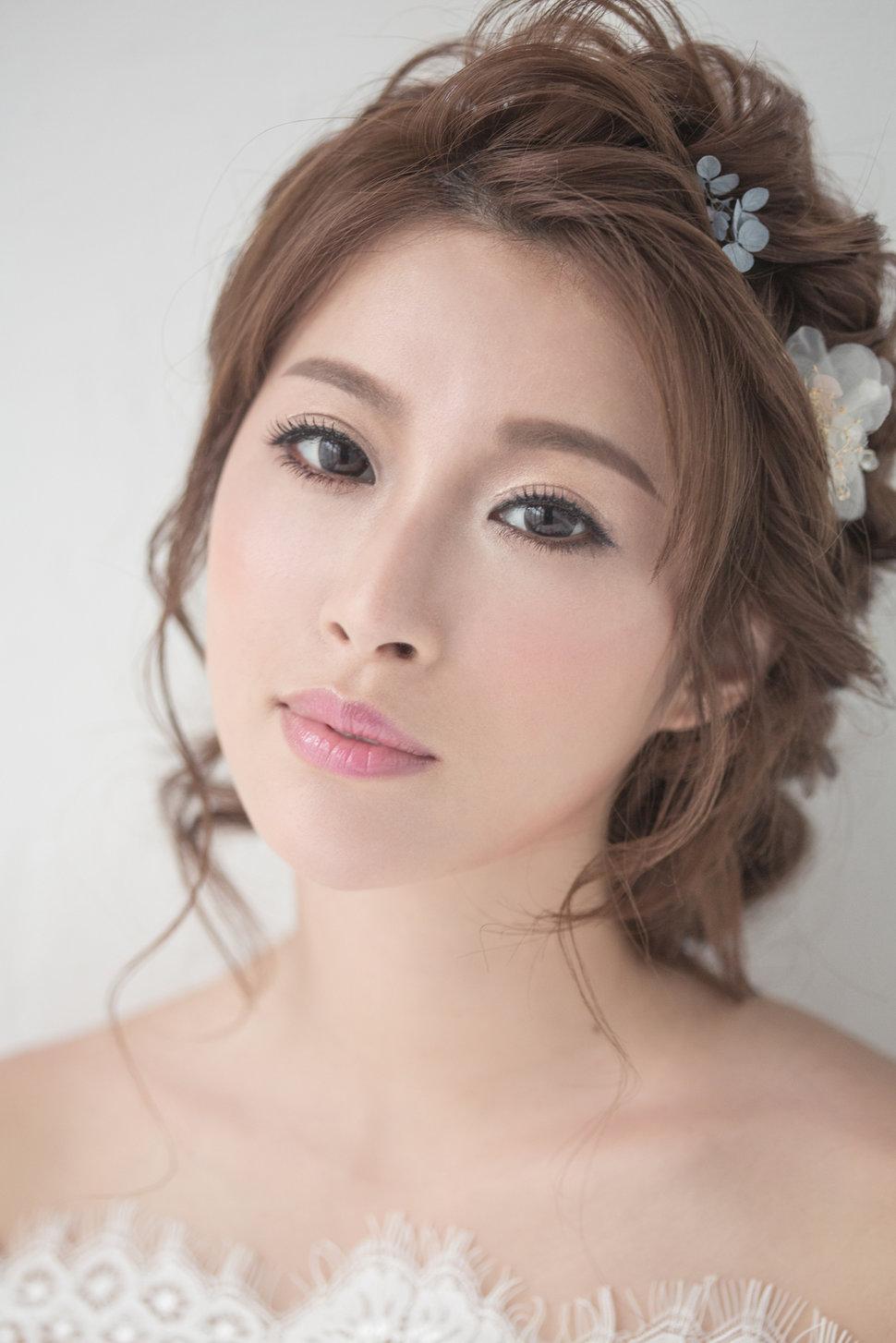【純真精靈】低髻造型/純淨妝感-8 - iling彩妝造型 - 結婚吧一站式婚禮服務平台