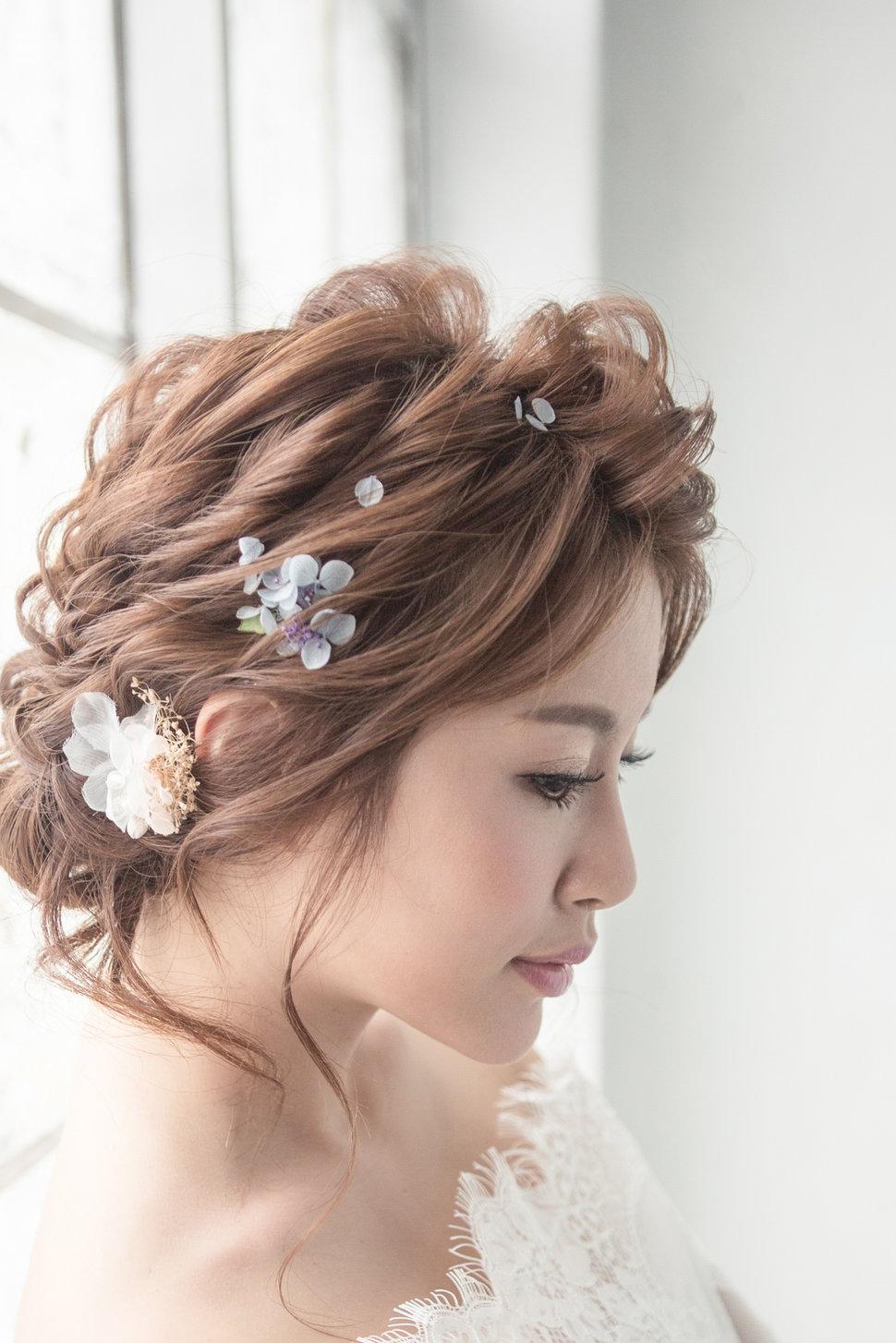 【純真精靈】低髻造型/純淨妝感-9 - iling彩妝造型 - 結婚吧