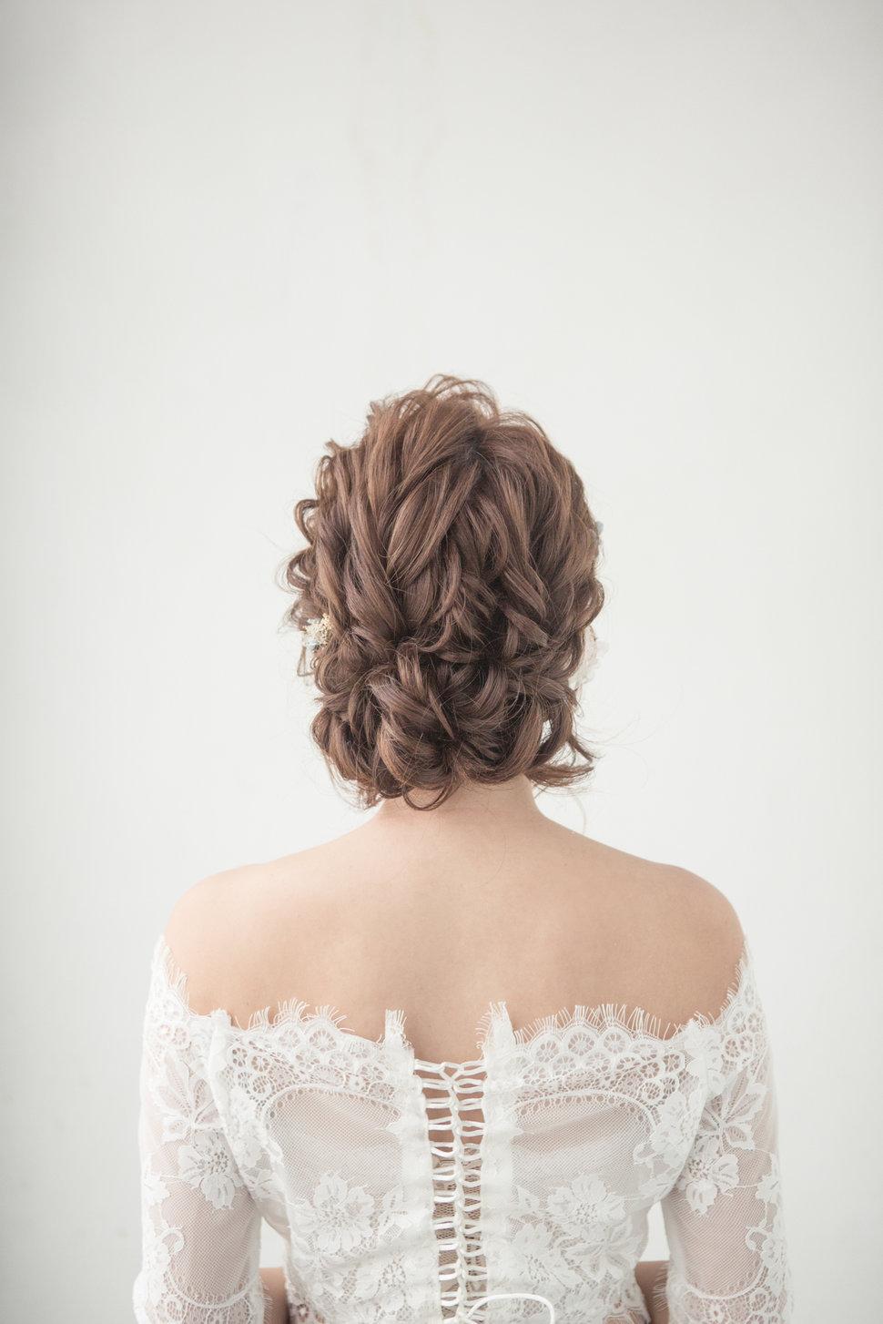 【純真精靈】低髻造型/純淨妝感-14 - iling彩妝造型 - 結婚吧