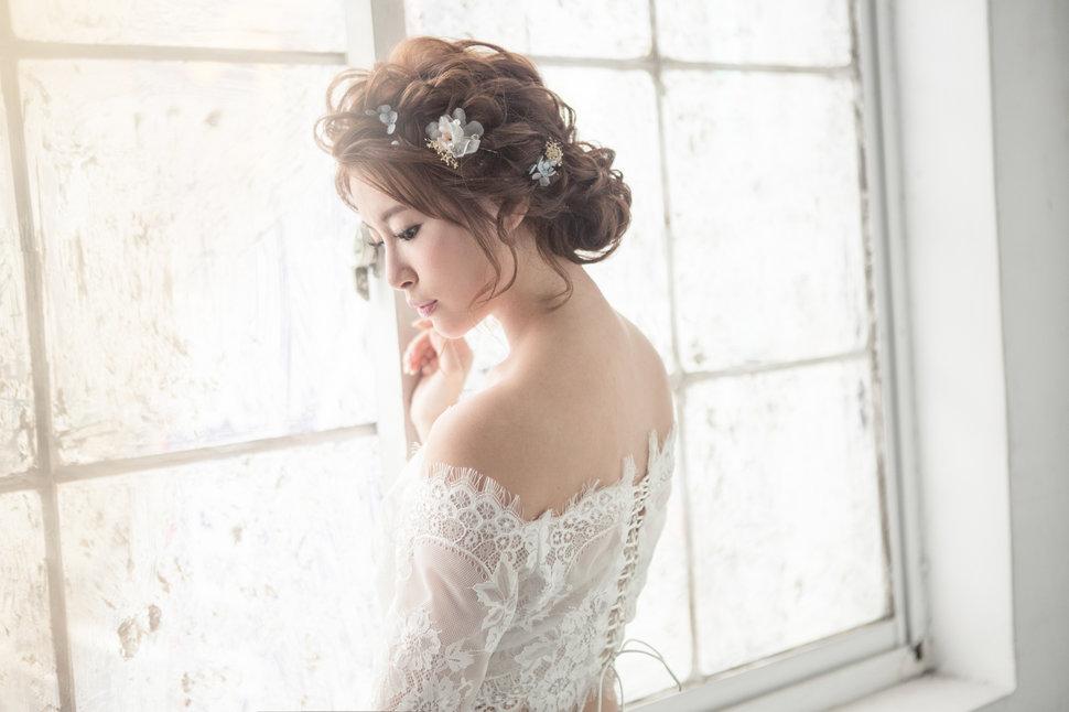 【純真精靈】低髻造型/純淨妝感-16 - iling彩妝造型 - 結婚吧