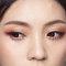 【名媚琉璃】極緻光裸肌-耀眼春桃眼妝-自然蓬鬆花苞頭-19
