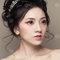 【名媚琉璃】極緻光裸肌-耀眼春桃眼妝-自然蓬鬆花苞頭-15