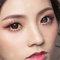 【名媚琉璃】極緻光裸肌-耀眼春桃眼妝-自然蓬鬆花苞頭-16