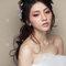 【西風愛上花神】花神慵懶玫瑰妝-微燻玫瑰-唯捲馬尾髮絲-美髮牆 (5 - 10)
