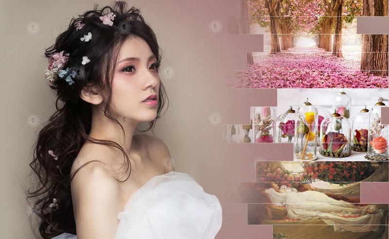 新娘秘書造型師作品-  新秘風格15