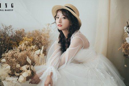 日系/甜美/可愛【阡陌藝術家】蓬鬆編髮/甜美鄉村