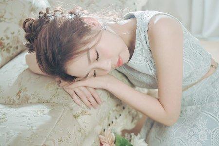 【涼夏巴巴露亞】日系高盤髮/自然系妝感