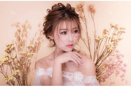 【碎花藝生】-自然系花藝大師/經典花藝日晴/花藝珍品編髮