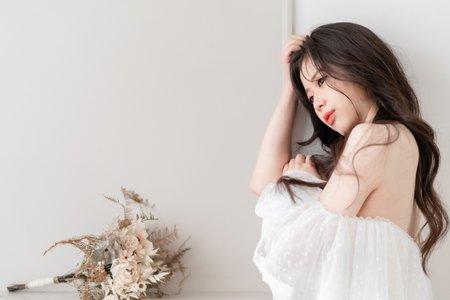 浪漫/韓系大波浪/亮色系橘色調唇彩【飄然玉仙】