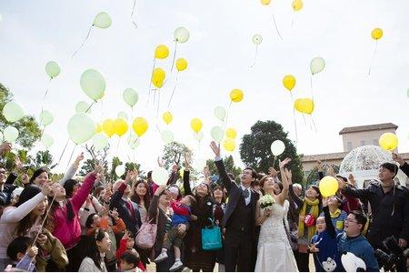 元龍 & 貝姍 戶外證婚儀式-台北園外園