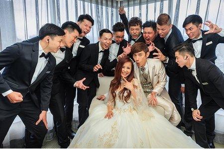 <婚攝胖哥婚禮紀錄作品>包偉銘+劉依純@台北晶華酒店