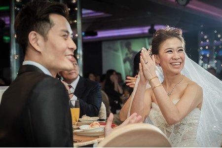 婚攝胖哥婚禮紀錄作品<甜甜+水母>@美麗華 華漾會館