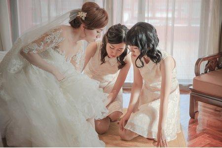 [婚禮攝影]怡汝+適宇結婚儀式午宴婚攝@圓山飯店準備篇