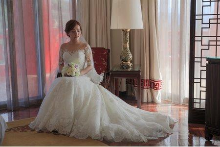 [婚禮攝影]怡汝+適宇結婚儀式午宴婚攝@六福皇宮儀式闖關篇