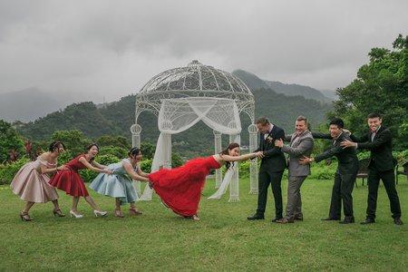 [婚禮紀錄]Sally&Radu@烏來憂聖美地戶外婚禮