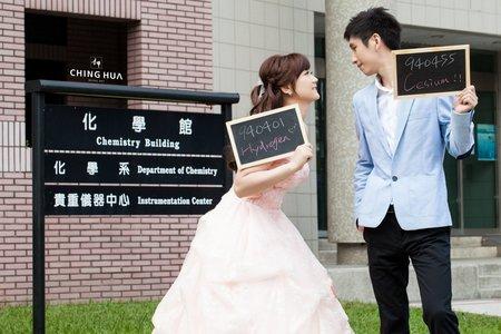 <青樺婚紗>特色婚紗-電影風