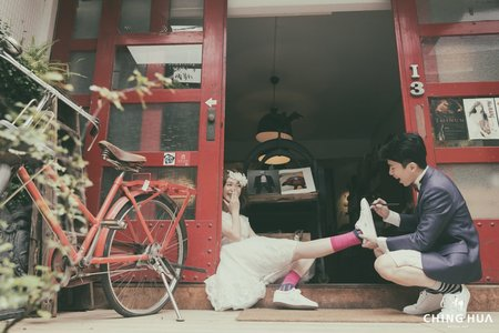 <青樺婚紗>自主婚紗-日系女孩專屬
