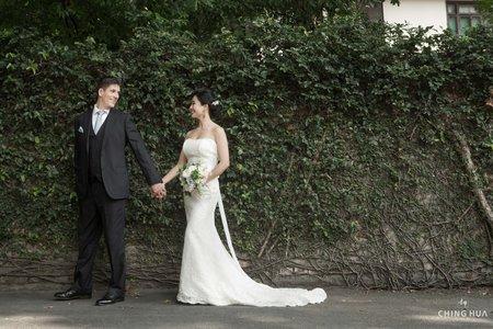 <青樺婚紗>特色婚紗-復古美式風