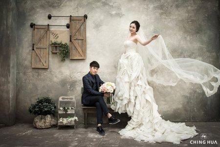 <青樺婚紗>特色婚紗-韓式唯美婚紗