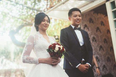 台北婚攝  亞澤&冠慧  婚禮攝影@青青食尚花園