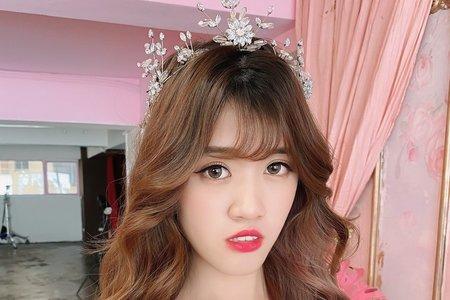 高雄新秘韓風婚禮造型