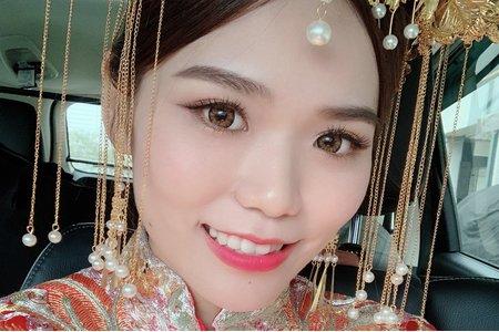 韓風新密 質感髮妝 精緻妝感 鮮花造型 乾燥花 皇冠