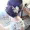 百變女神編髮盤髮+氣質大旁分1/9Susan(編號:188121)