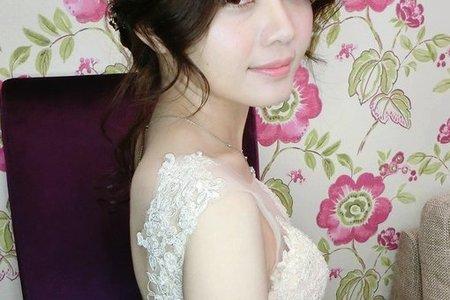 ~NEW~優雅浪漫低盤髮9/3彩綉