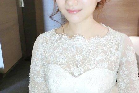 韓式浪漫低盤髮+名模低馬尾4/30樹涵