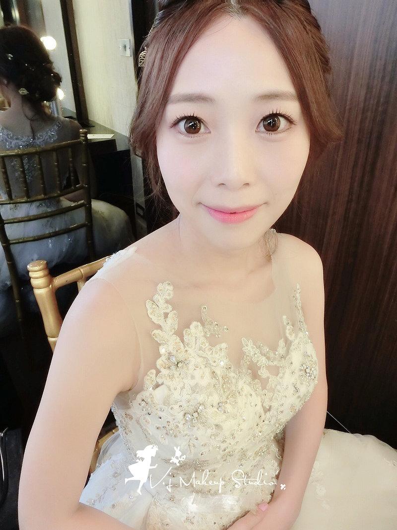 新娘試妝服務作品