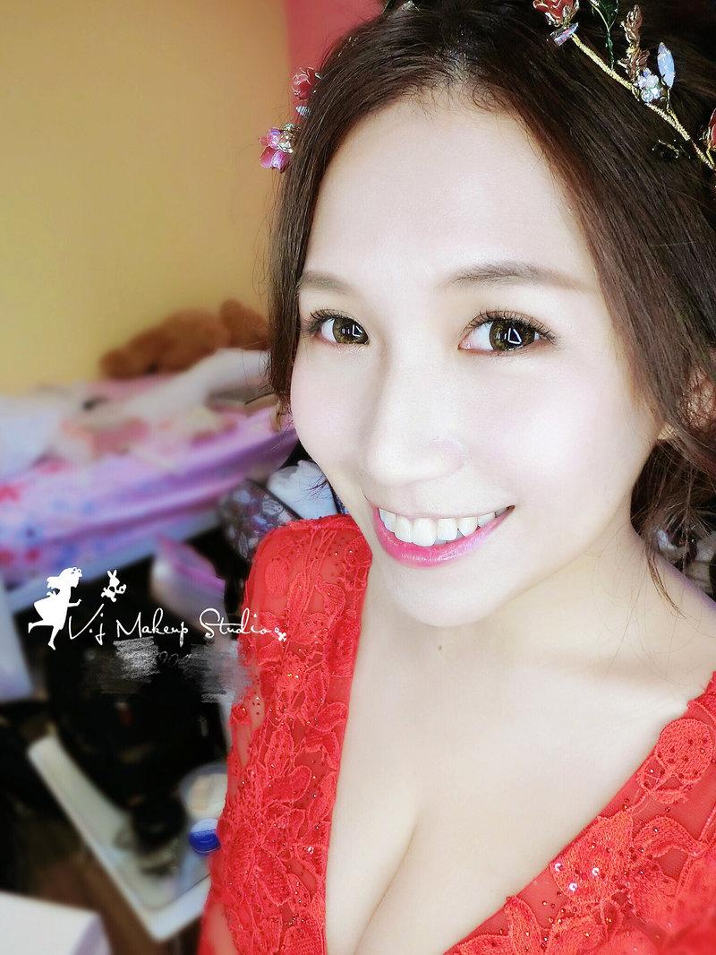 韓式甜美妝容
