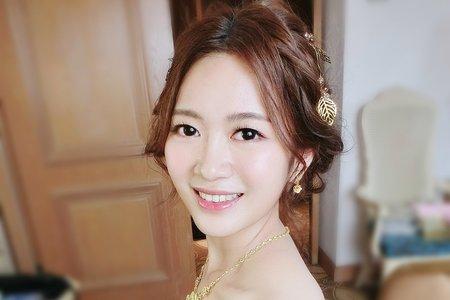 仙仙盤髮+浪漫公主風