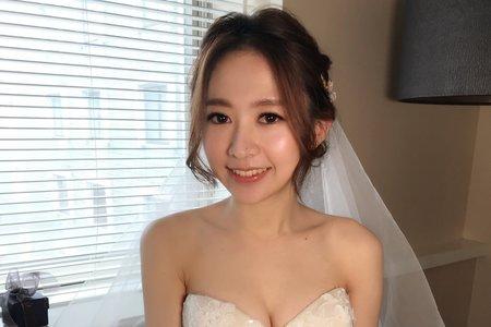 ~NEW~浪漫低盤髮+氣質公主風2018怡靜