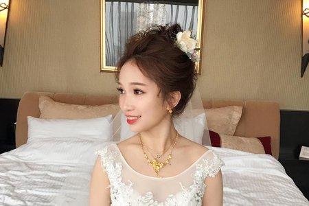 仙女盤髮+日系乾燥花