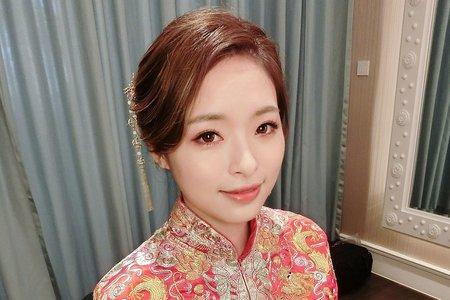 ~NEW~龍鳳掛中國風+氣質盤髮