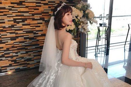 短髮韓系公主風