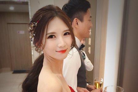 夢幻公主+清新韓式低馬尾11/10吳彥