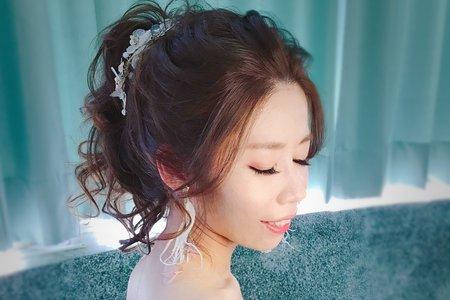 ~NEW~短髮甜美風+接髮高馬尾公主11/11育萍