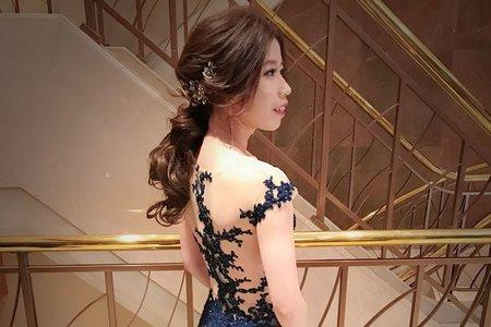 ~NEW~短髮韓式低盤髮+接髮低馬尾12/30育萍