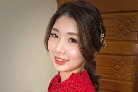~NEW~好媳婦低馬尾+浪漫花系公主頭3/24憶涵