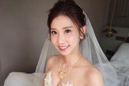 ~NEW~氣質浪漫公主+韓式低馬尾5/18政誼