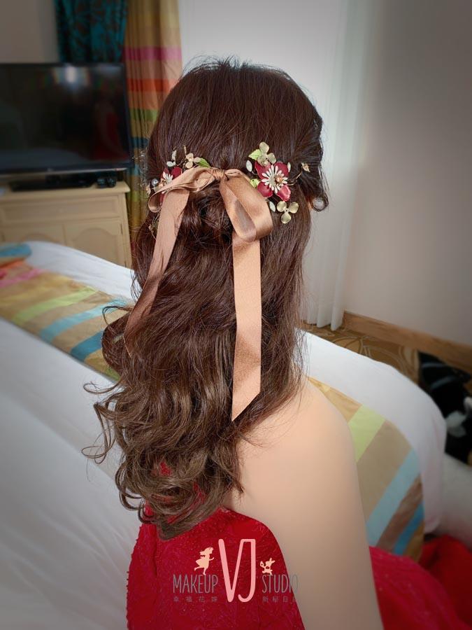 新秘,新娘造型,文定造型,髮型