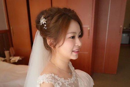 ~NEW~活潑高盤髮+經典龍鳳掛5/26夢亭